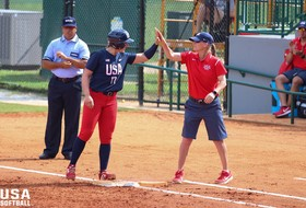 "Beavers Face 2020 USA Softball Women's National Team at ""Stand Beside Her"" Tour Stop"