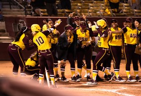 #17/15 Sun Devils Score 18 Runs in Doubleheader Sweep