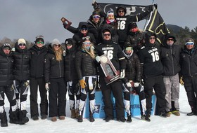 Skiers Finish Second At NCAA Championships