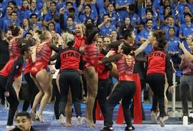 No. 3 Ute Gymnasts Post Season-High 198.075 To Top No. 3 UCLA