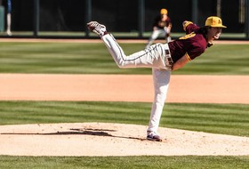 Sun Devil Baseball Takes Series Behind Thornton's Strong Start