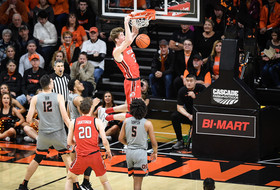 Men's Basketball Can't Find Rhythm in Corvallis