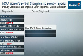 Bruins Seeded Fifth, Will Host NCAA Regionals