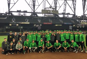 Ducks Play Fall Scrimmage at Safeco Field