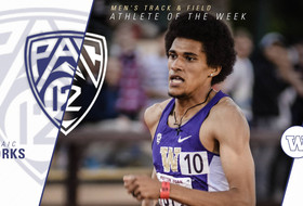 Yorks' Record Earns Pac-12 Weekly Honor