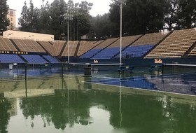 Men's Tennis Match Postponed Due to Rain