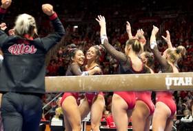Follow Utah Gymnastics at UCLA TODAY