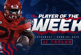 J.J. Taylor Named Pac-12 Offensive Player of the Week