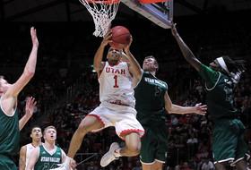 Bonam's key plays late helps Utah beat Utah Valley 87-80