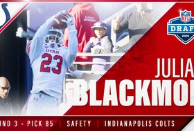 Julian Blackmon Drafted By Colts In Third Round