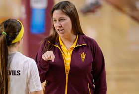 ASU Volleyball's Stuart To Join Utah State Coaching Staff