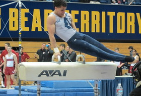Bailey Earns All-American Status on Pommel Horse