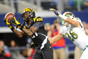 Notre Dame Holds Off ASU, 37-34, in Texas
