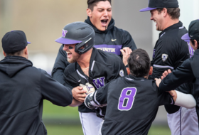 Huskies Clinch Series With Extra Innings Win