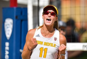 @SunDevilBeachVB Upsets No. 11 Cal in Opening Match at Pac-12 Championship