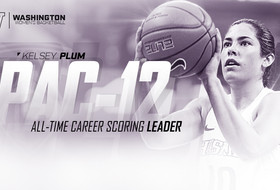 Kelsey Plum Breaks All-Time Pac-12 Scoring Record