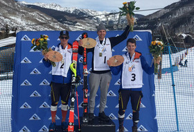 David Ketterer Wins a Third NorAM Cup Slalom Race