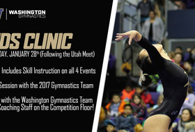 Washington Gymnastics To Host Kid's Clinic