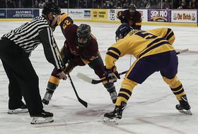Hockey Shutout in Penalty-Heavy Contest in Mankato