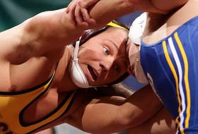 Wrestling's Stauffer Set For NCAA Championships