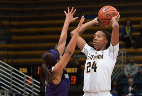 Courtney Range Leads No. 15/14 Cal to an 84-64 Win