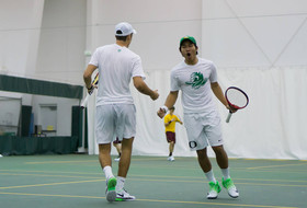 No. 23 Ducks Sweep Drake, Laurent Ties Program Record