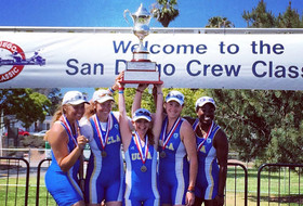 UCLA Rowing Concludes Successful Day Two at San Diego Crew Classic