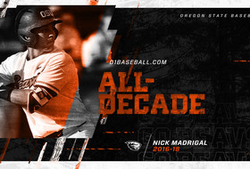 Three Beavers Named To D1Baseball's All-Decade Team