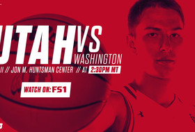 Utes Close Out Home Stand Against Huskies on Saturday