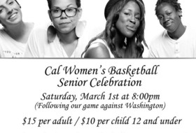 Cal To Hold Senior Day Celebration Saturday, March 1
