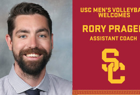 Rory Prager Named Assistant Coach With USC Men's Volleyball