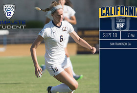 No. 13 Cal Crosses Bay For Friday USF Match