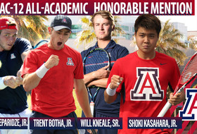 Four Wildcats Receive Honorable Mention Pac-12 All-Academic Accolades
