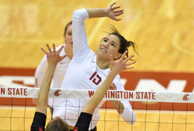 Jehlárová Named AVCA Pacific North Region Freshman of the Year