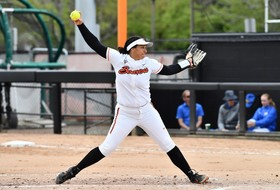 Mazon Throws First-Career No-Hitter as Beavers Take Two on Day One in Las Vegas