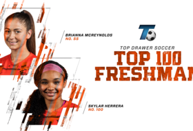 McReynolds, Herrera Make Top Drawer Soccer Freshman Top 100