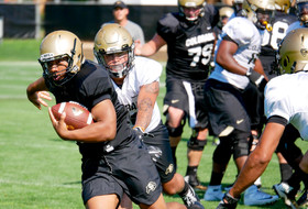 Practice Report, Day 4: MacIntyre Likes Buffs' Effort With Big Plays On Both Sides