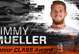 Mueller Named Senior CLASS Award Candidate
