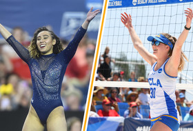 Ohashi, Carey Nominated for NCAA Woman of Year Award