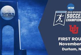 Utah Soccer Starts NCAA Tournament Trek Friday