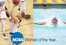 ASU's Brunner and Simonovic Nominated for NCAA Woman of the Year Award