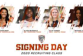 Four Sign to Join Beavers' Volleyball Program