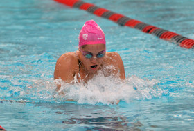 Swimming Trails No. 3 Cal After First Day of Meet