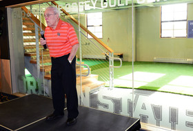 Bud and Maxine Ossey Golf Center Opened