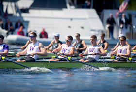 UW Men's Crew Fights But Falls To New Zealand In Windermere Cup