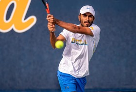 Men's Tennis Heads North to Open League Play
