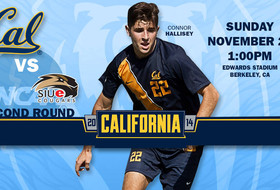 Cal Hosts SIUE in NCAA Second-Round Match Sunday