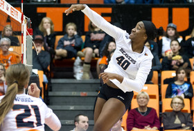 Beavers Nipped By No. 5 Washington In Four
