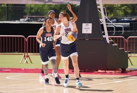 Hebard, Ionescu Picked for USA Basketball 3x3 Squad