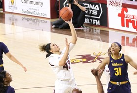 Ibis' 26 Points and Last-Second Defensive Stop Help No. 19 @SunDevilWBB Edge No. 24 Cal, 62-61
